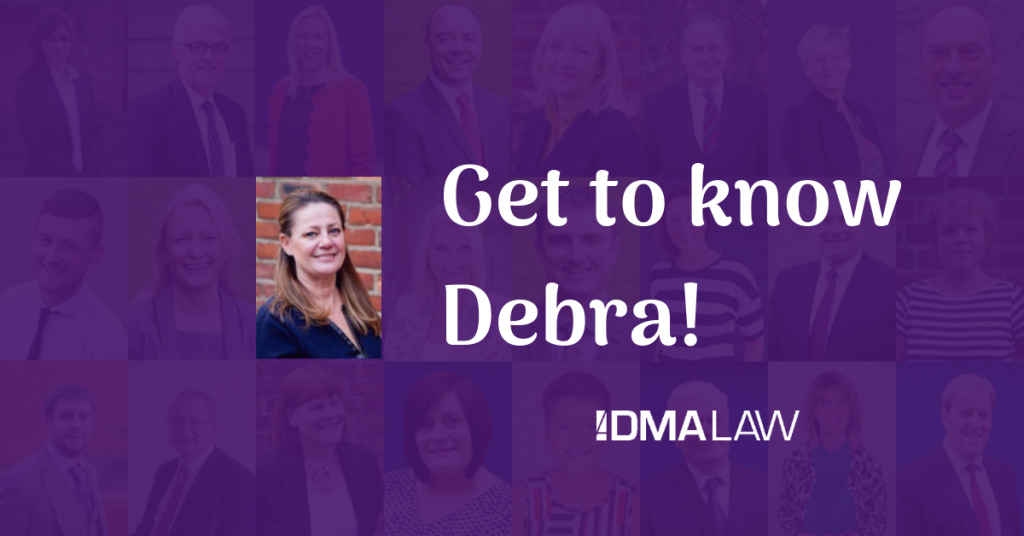 Find out more about Debra