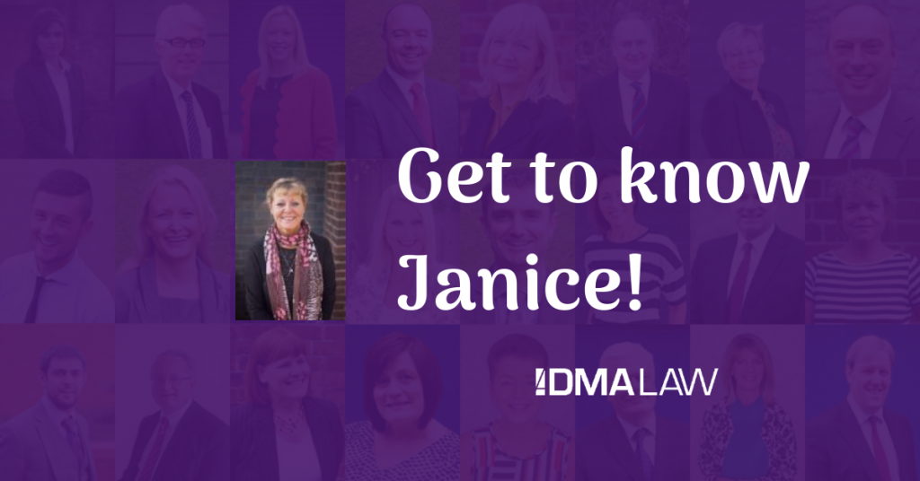 Find out a bit more about Janice